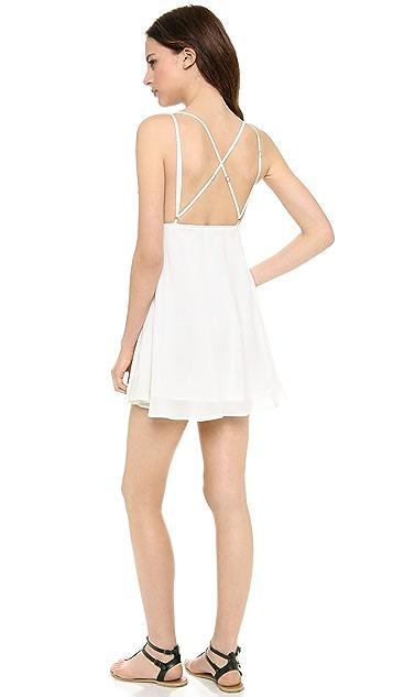 For Love & Lemons San Pedro Mini Dress