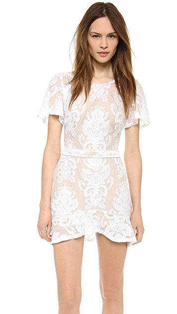 For Love & Lemons San Marcos Mini Dress