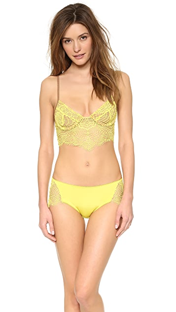 For Love & Lemons Bat Your Lashes Cheeky Panties