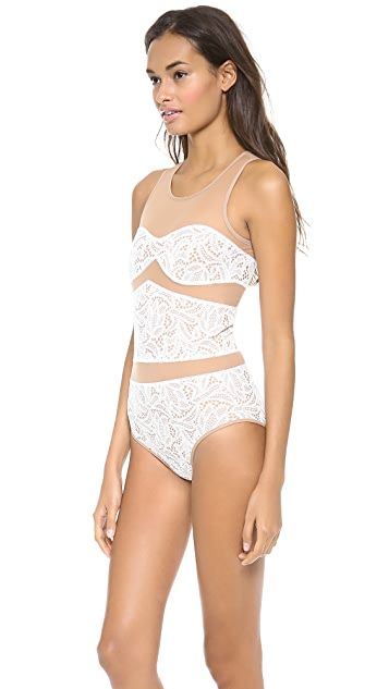 For Love & Lemons Boy Crazy Bodysuit