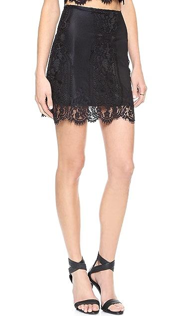 For Love & Lemons Wild Flower Skirt