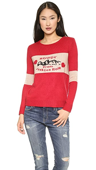 For Love & Lemons Knitz Howdy From Jackson Hole Sweater