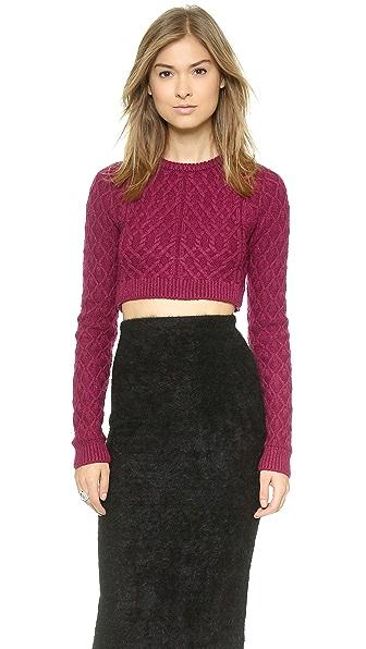 For Love & Lemons Knitz Bobcat Sweater