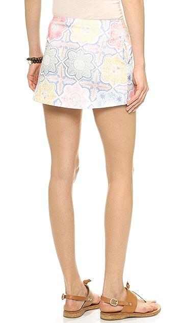 For Love & Lemons Ole Miniskirt