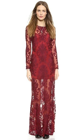 For Love & Lemons Ethereal Maxi Dress