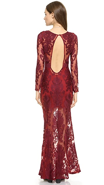 For Love & Lemons Ethereal Maxi Dress