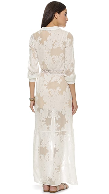 For Love & Lemons Breezy Maxi Dress