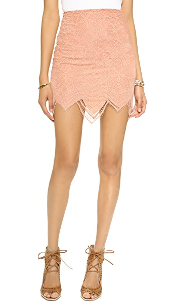 For Love & Lemons Luna Miniskirt
