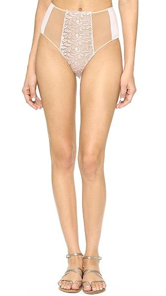 For Love & Lemons Naples High Waisted Bikini Bottoms
