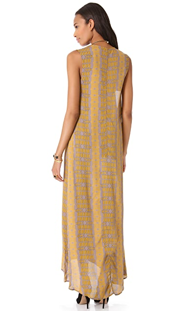 Flynn Skye V Neck Maxi Dress