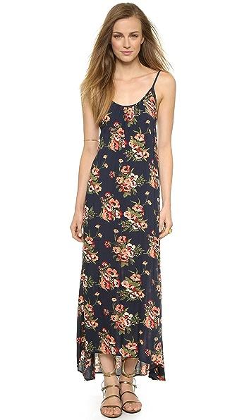 Kupi Flynn Skye online i prodaja Flynn Skye Scoop Back Maxi Dress Navy Poppy haljinu online
