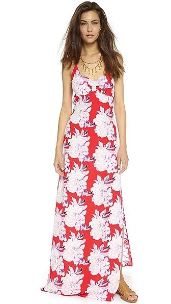 Shop Flynn Skye online and buy Flynn Skye Saturdaze Dress Hot Tamale dress online