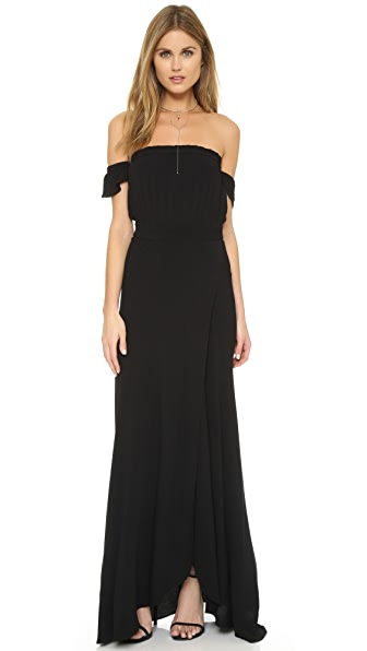 Flynn Skye Bella Maxi Dress - Black