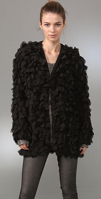 Foley + Corinna Chiffon Petal Jacket