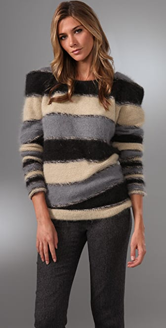Foley + Corinna Striped Sweater