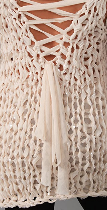 Foley + Corinna Norma Crochet Tunic