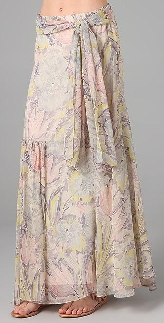 Foley + Corinna Tulip Print Rambler Skirt