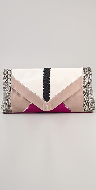 Foley + Corinna Oversized Patchwork Clutch