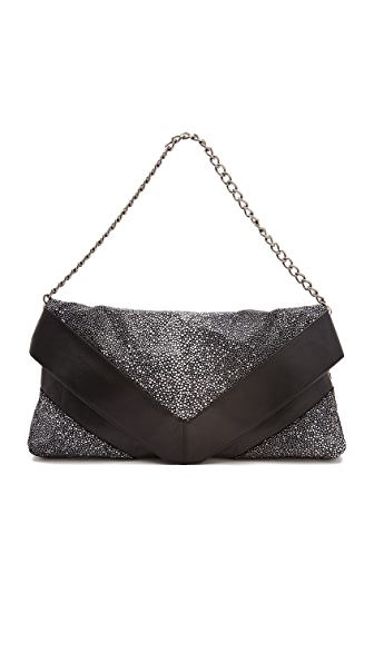 Foley + Corinna Georgina Oversized Suede Clutch