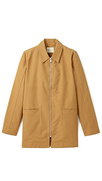Folk Canvas Mac Coat