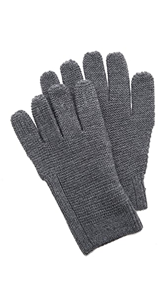 Folk Reverse Knit Gloves