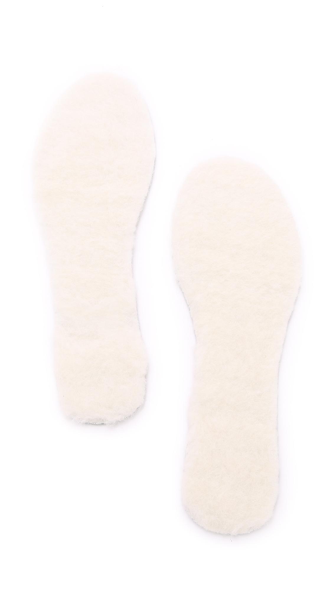 Foot Petals Give 'Em The Boot Cushions - White at Shopbop