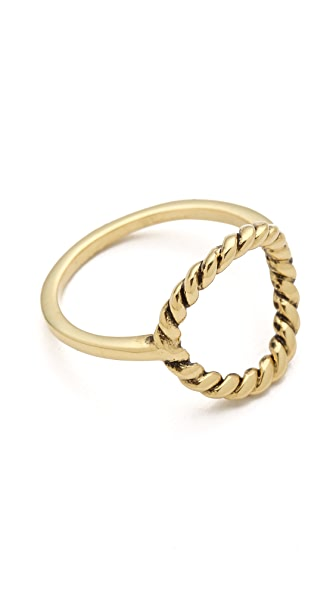 Fortune Favors the Brave Lasso Ring
