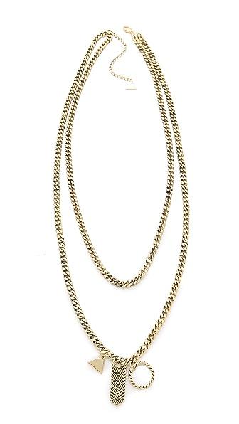 Fortune Favors the Brave Charm Pendant Necklace