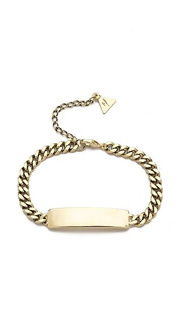Fortune Favors the Brave ID Bracelet