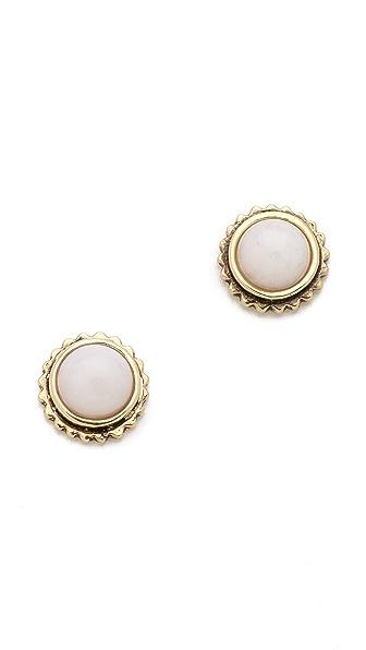 Fortune Favors the Brave Sunburst Stud Earrings
