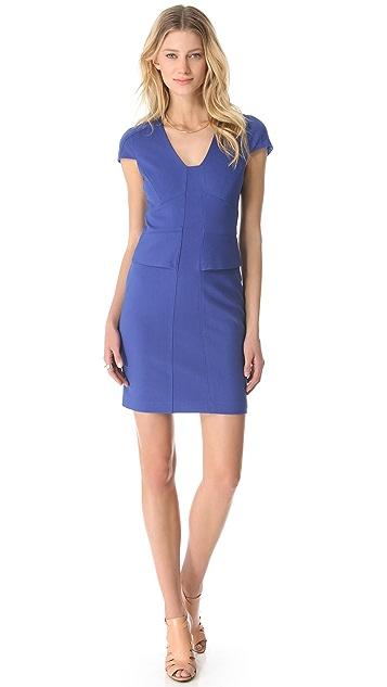 4.collective Cap Sleeve Ponte Dress