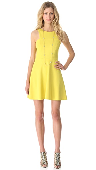 4.collective Ponte Sleeveless Flirty Dress
