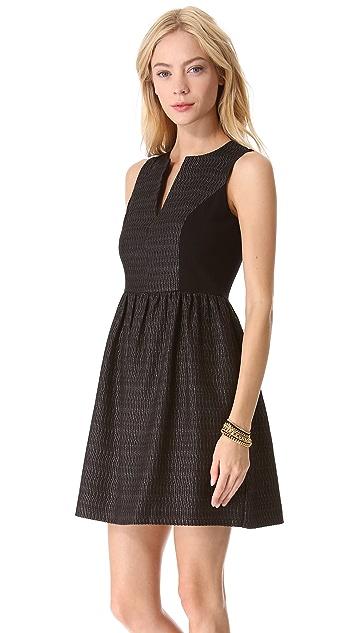4.collective Split Neck Flirt Dress