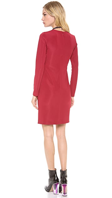 4.collective Long Sleeve Body Skimming Dress