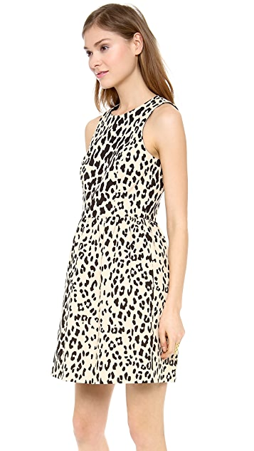 4.collective Sleeveless Leopard Flirty Dress