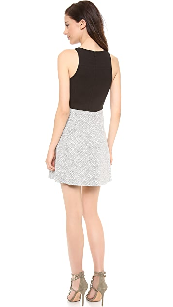 4.collective Square Neck Flirty Dress