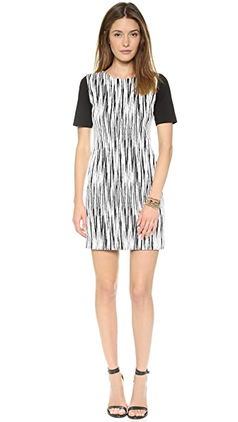 4.collective Short Sleeve Lightning Dress