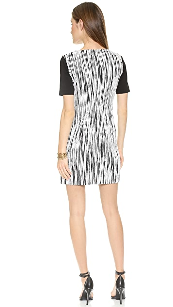 4.collective Short Sleeve Lightning Dress