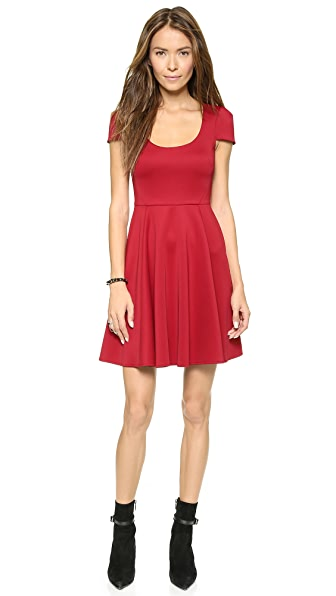 4.collective Cap Sleeve Flirty Dress