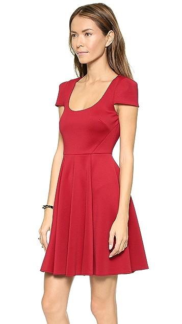 4.collective Cap Sleeve Flirty Dress