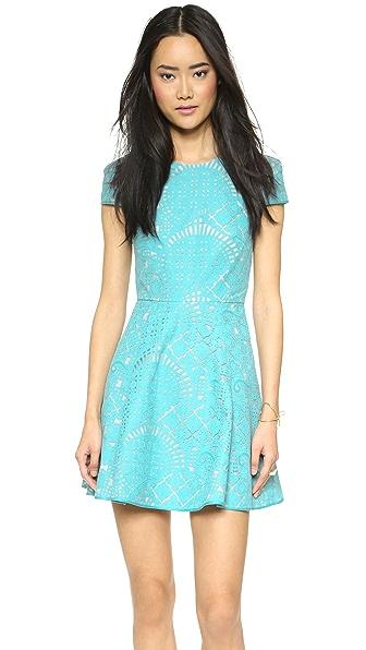 4.collective Lilou Mosaic Flirty Dress