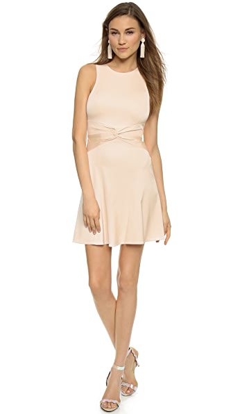 4.Collective Shirred Flirty Dress - Pale Blush