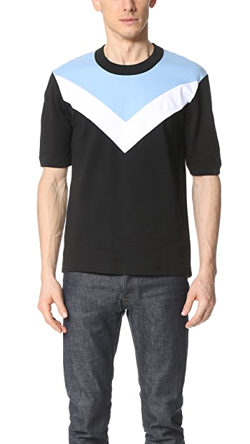 Fred Perry by Raf Simons Chevron Insert Tee