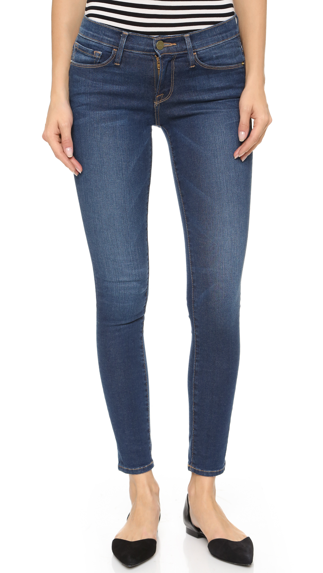 FRAME Le Color Skinny Jeans | 15% off first app purchase with code ...
