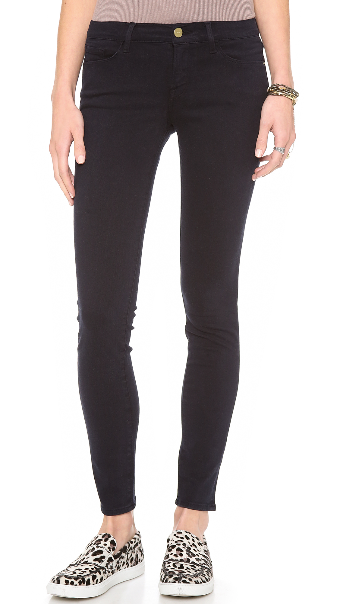 FRAME Le Color Skinny Jeans | SHOPBOP