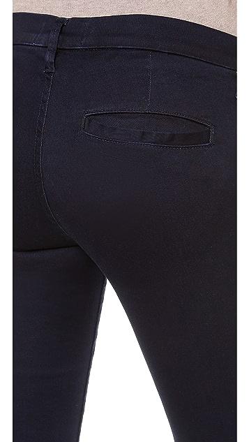 FRAME Le Skinny Flare Lisse Pants