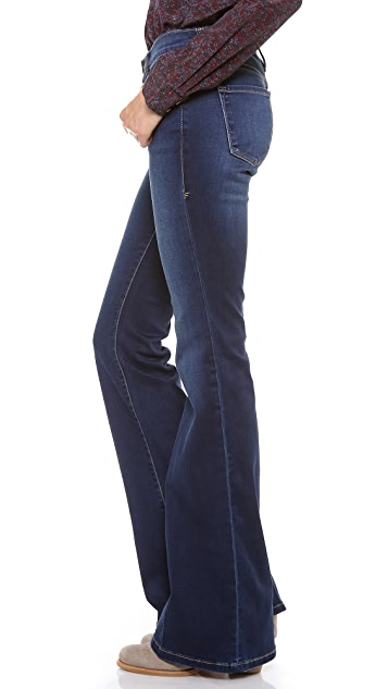 FRAME Le Skinny Flare Jeans