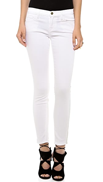 FRAME Le Luxe Tuxe Skinny Jeans