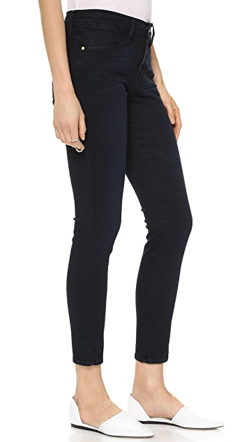 FRAME Le High Rise Skinny Jeans