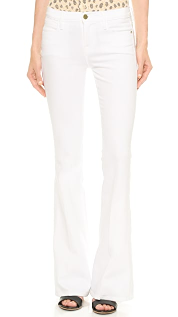 FRAME Le High Rise Flare Jeans